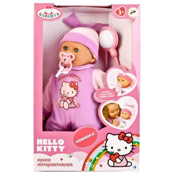 Пупс Карапуз Hello Kitty 35 см, плачет